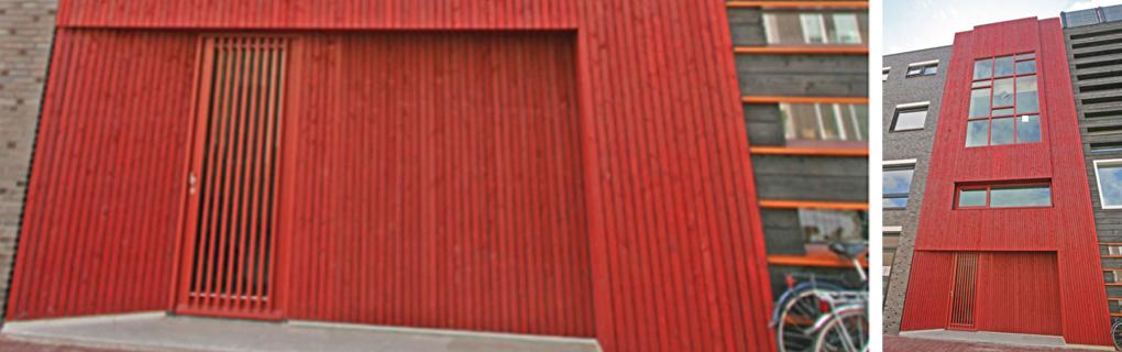 Wohnhaus, Massivholz, Sichtoberfläche, 4 - geschossig Treppenwangen Kerto in Leno