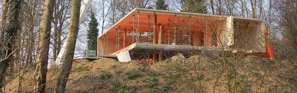 Haus im Wald / Brettsperrholz